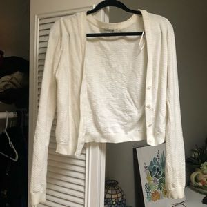 Off White Forever 21 Cardigan